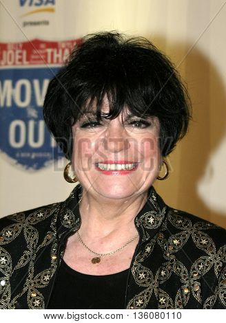 Joanne Worley at the Celebrity Gala Opening For National Tour Of Movin' Out held at the Pantages Theatre in Hollywood, USA on September 17, 2004.