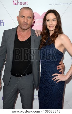 LOS ANGELES - JUN 25:  Dominic Purcell, Sarah Wayne Callies at the Together1Heart Launch Party at the Sofitel Hotel on June 25, 2016 in Los Angeles, CA