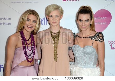 LOS ANGELES - JUN 25:  AnnaLynne McCord, Angel McCord, Rachel McCord at the Together1Heart Launch Party at the Sofitel Hotel on June 25, 2016 in Los Angeles, CA