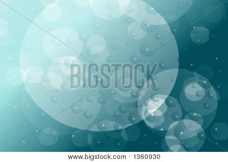Stock Image Of Bubbles Presentation Template