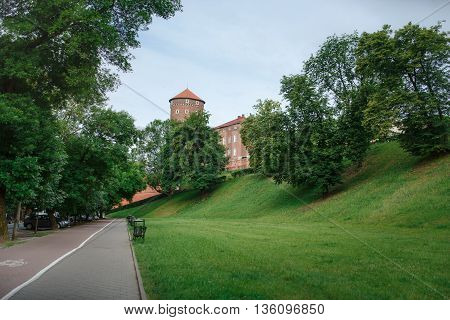 Palace, Wawel In Krakow
