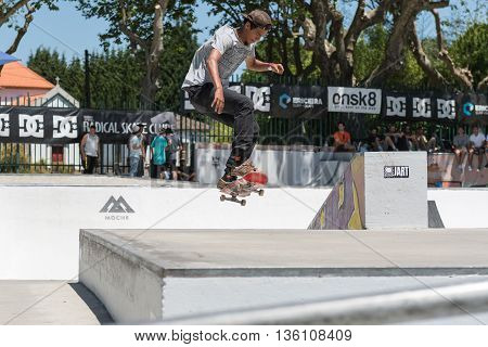 Guilherme Durand During The Dc Skate Challenge