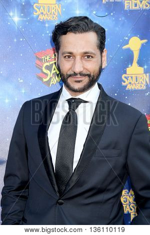 Cas Anvar arrives at the 42nd Annual Saturn Awards on Wednesday, June 22, 2016 at the Castaway Restaurant in Burbank, CA.