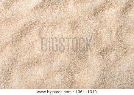 Background of dry wheat semolina