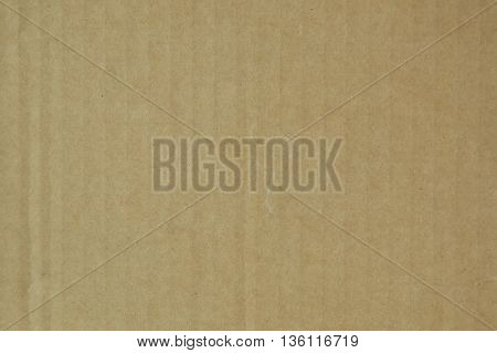 close up of brown paper box background and texture