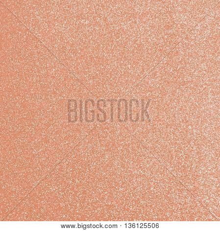 rose gold glitter texture background for design
