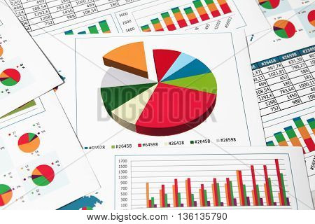 Paper Charts And Graphs In Report