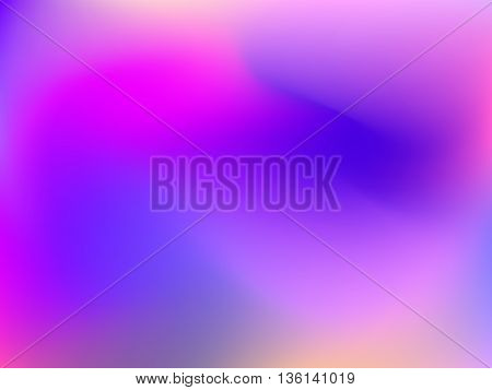 Abstract blur gradient background with trend pastel pink, purple, violet, magenta and orange colors for deign concepts, web, presentations and prints. Vector illustration.