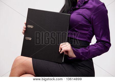 Black Ring Binder