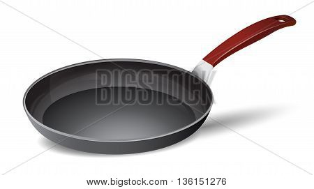 pan vector isolated on a white background.