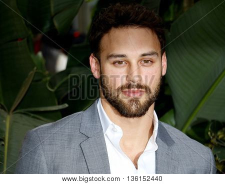 Ryan Guzman at the Los Angeles premiere of 'The Legend Of Tarzan' held at the Dolby Theatre in Hollywood, USA on June 27, 2016.