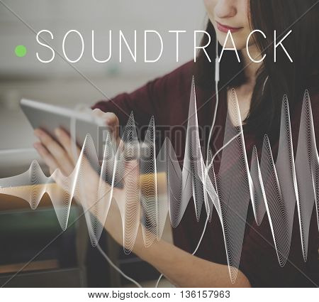 Soundtrack Audio Background Balance Media Concept