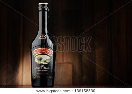 Bottle Of Baileys Irish Cream