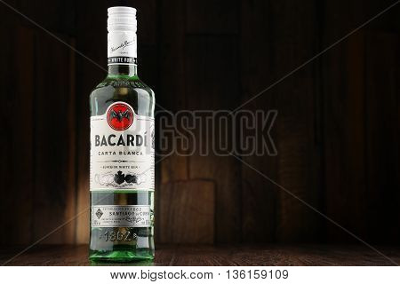 Bottle Of Bacardi White Rum