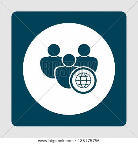 User Internet Icon In Vector Format. Premium Quality User Internet Symbol. Web Graphic User Internet