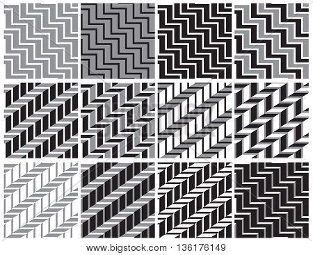 backgrounds modern geometric black white and grey seamless
