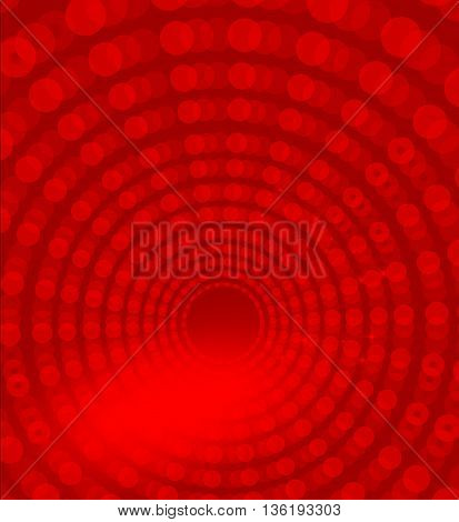 Red ray dots copy space background illustration