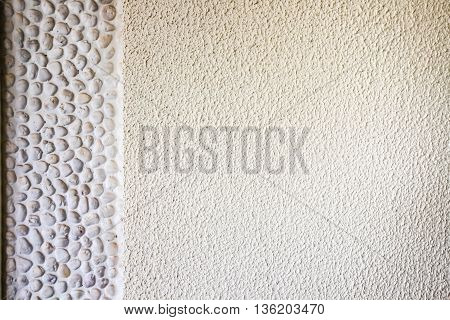marble stick in the wall as a background texture
