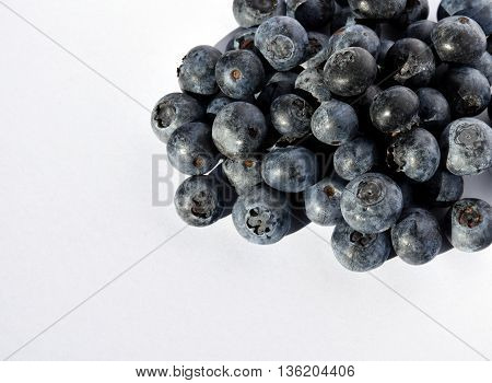 Close up of blueberries - Fresh Blueberries or Bilberries. group of blueberry or stack of blueberries concept for blueberry diet or healthy diet with berries.