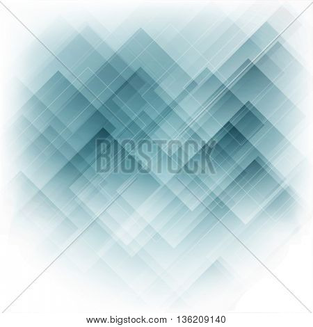 Abstract design background in shades of blue