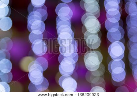 City night light blur bokeh. abstract, background,
