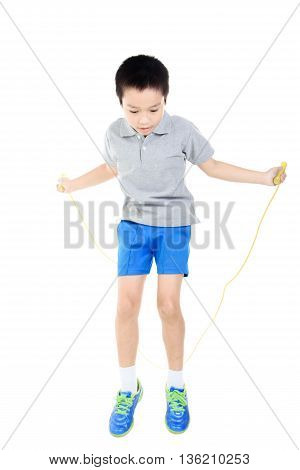 Rope Jumping Boy