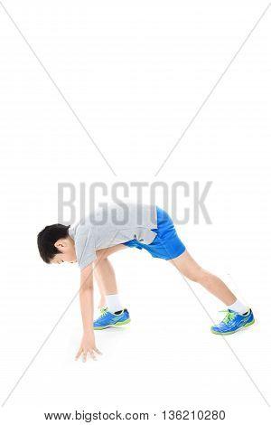 Pre Start Running Boy