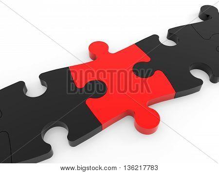 Puzzle Connect Solution.