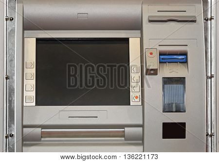 Automatd Teller Machine With Chip and Contactless Card Reader