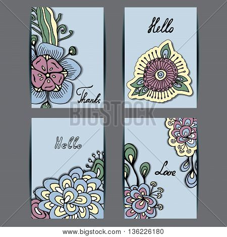 stock vector template for flyer brochure card cover book invitation