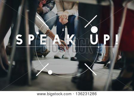 Speak-up Communication Information Sharing Concept