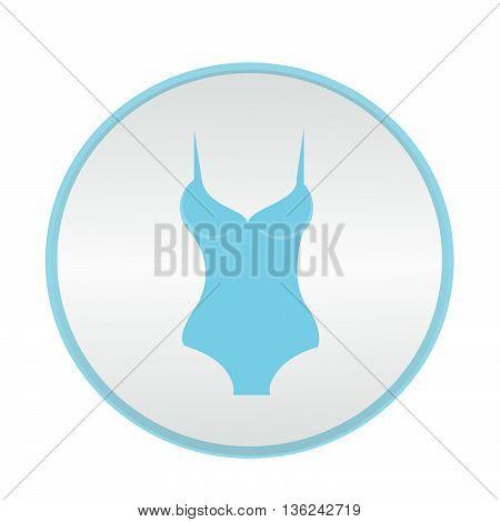 vector icon underwear brassiere pants illustration on background