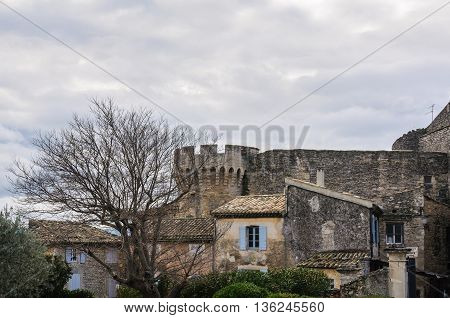 The Castle In Gordes, Provence, France