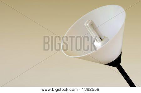 Energy Saving Light Bulb And Lamp Shade