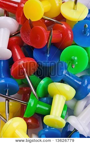 Colored Thumbtacks