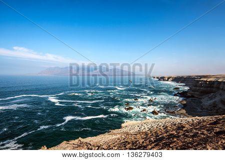 Juan Lopez Beach La Portada National Reserve Chilean Coast