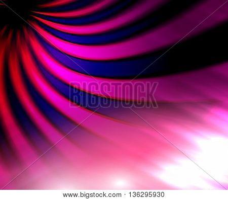 Pink indigo glittering ray copy space background design
