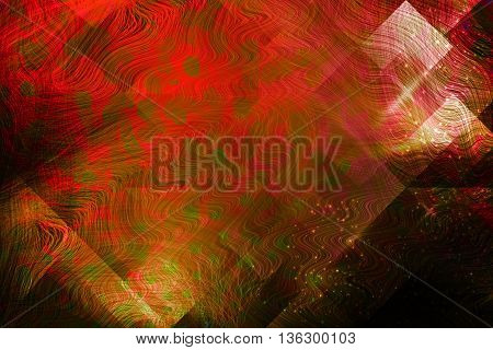 Abstract geometric Grid Mosaic rusty brown light background