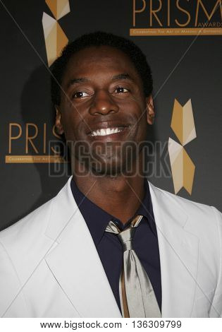 Isaiah Washington at the 10th Annual Prism Awards held at the Beverly Hills Hotel in Beverly Hills, USA on April 27, 2006.