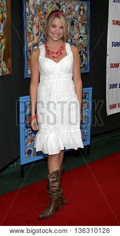 Ashley Benson at the Los Angeles premiere of 'Surf School' held at the Westwood Crest Theater in Westwood, USA on May 16, 2006.