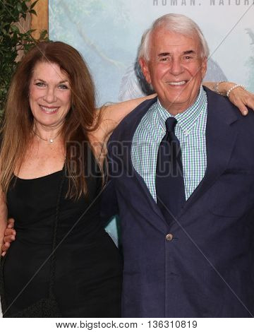 LOS ANGELES - JUN 27:  Wendy Riche, Alan Riche at The Legend Of Tarzan Premiere at the Dolby Theater on June 27, 2016 in Los Angeles, CA