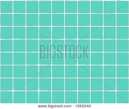 Seamless Blue Tile