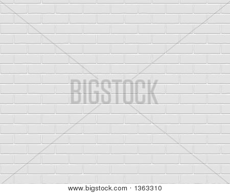 Painted Grey Brick Background