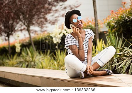 Modern Young Student Black Girl