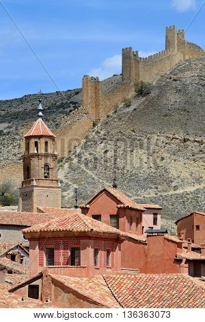 Albarracin historic town, province of Teruel, Spain