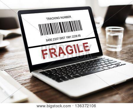 Fragile Breakable Care Caution Crack Concept