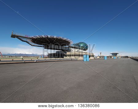 Lingotto Conference Centre And Helipad In Turin