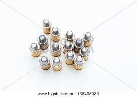 Group Of 45 Caliber Bullets Pistols Ammo