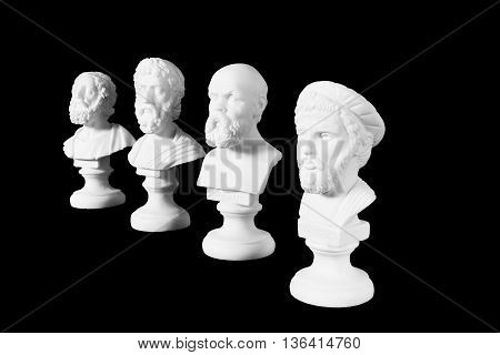 White Marble Bust Of Ancient Greeks