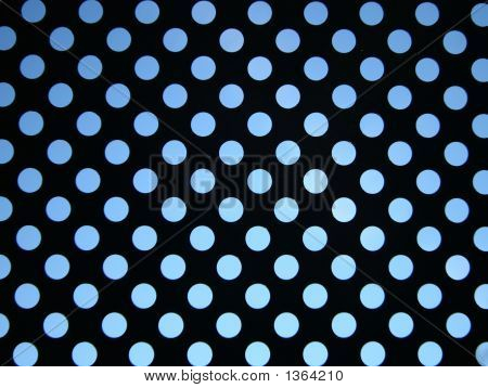 Blue Sky Behind Pattern Of Circles